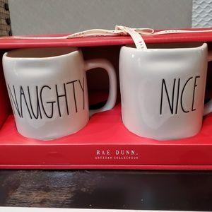 Rae Dunn Christmas Mugs Set